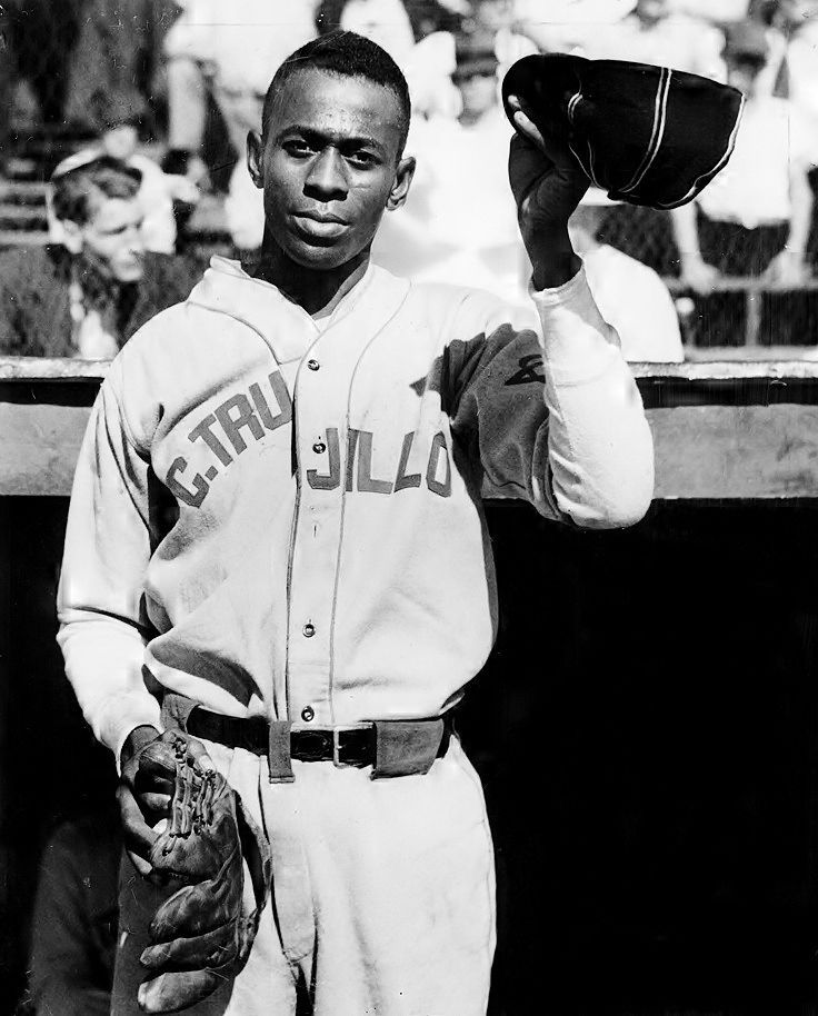 In 1937, Satchel Paige played for the Dominican dictator