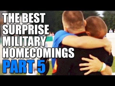 Welcome Home Blog - break out the tissues! Military heart warming reunions