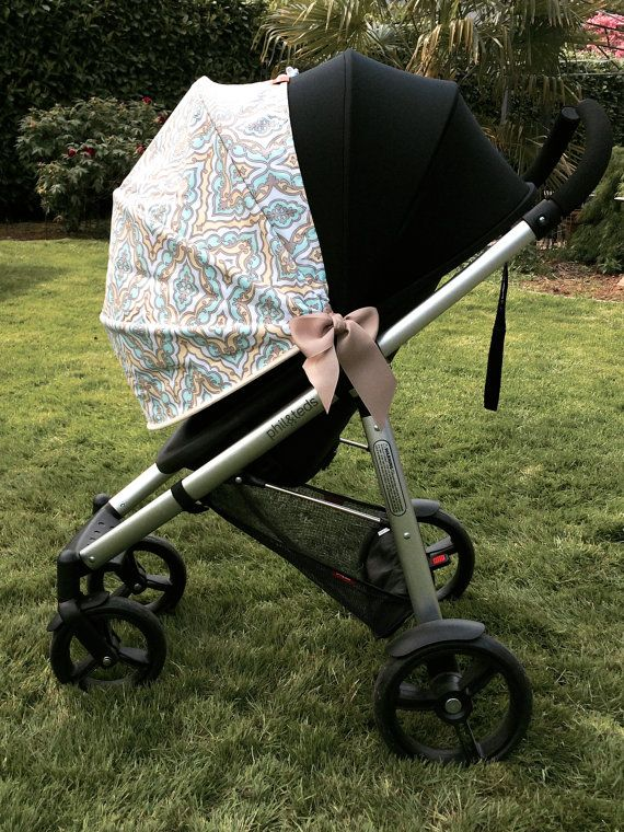 Stroller Canopy Stroller Cover Stroller Shade by simpleShade, $57.95  Such a great product idea!