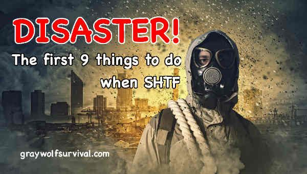 Here are the first 9 steps to help you survive: http://graywolfsurvival.com/157027/disaster-the-first-9-things-to-do-when-shtf/