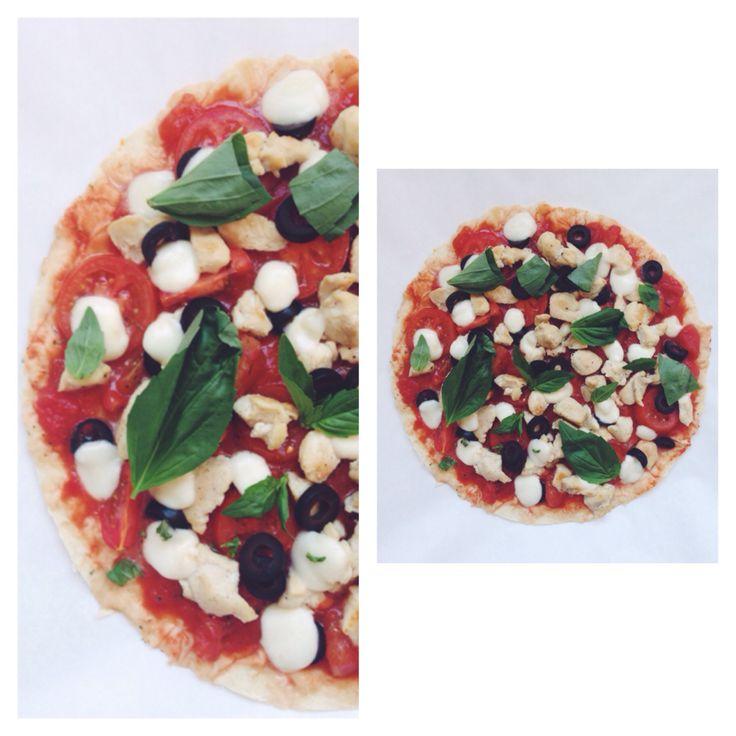 ПП пицца на лаваше