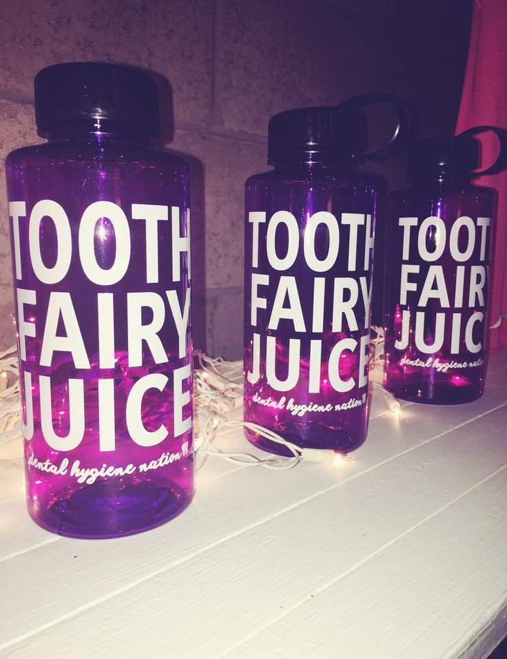 Tooth fairy juice for the dental professional.