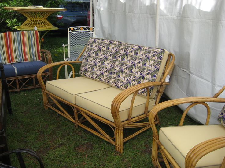 Vintage Rattan Patio Furniture Many Images/videos Of Retro Furniture And  Decor At Http: