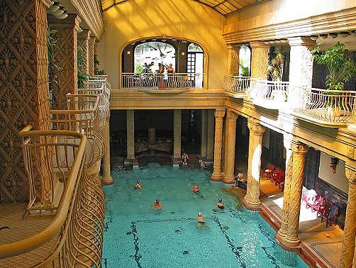 Gellért fürdő (thermal baths in Budapest)