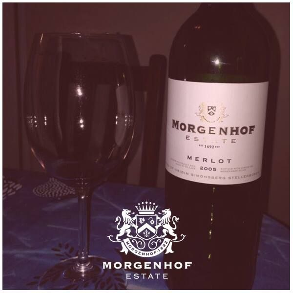 Cold weather and your favorite bottle of Morgenhof red! The best way to spend your time this winter.