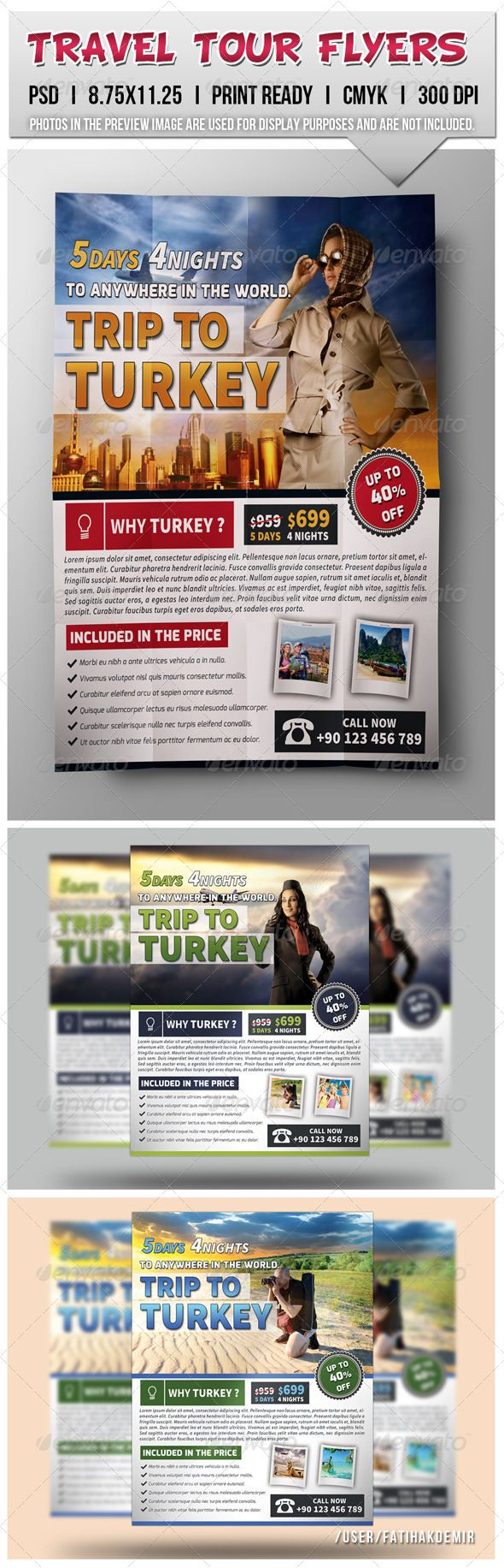 Travel Tour Flyers The 290 best Travel