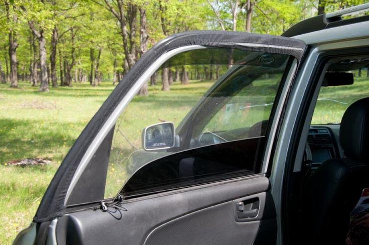 Москитная сетка на окна автомобиля
