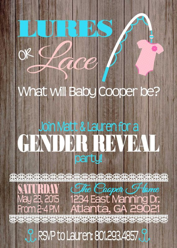 Best 25 Gender reveal party invitations ideas – Baby Announcement Party
