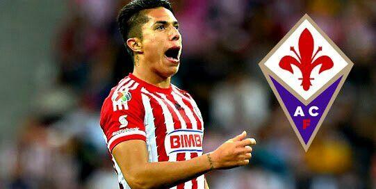Fiorentina 16 contrata al Mexicano Carlos Salcedo de un gran equipo, Chivas del Guadalajara
