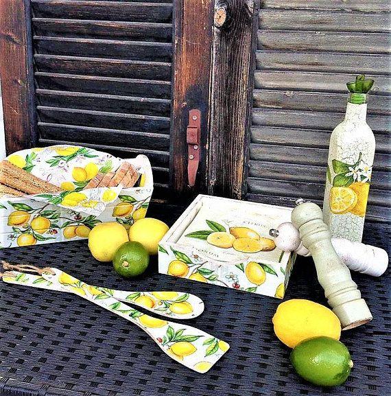 Lemon Kitchen Decor Lemon Farmhouse Kitchen Lemon Decor