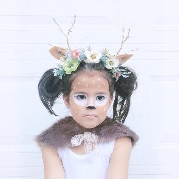 Fawn costume. This would be awesome for an adult too!