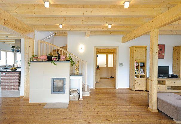 Scandinavian Blockhaus  Ihr Holz-Traumhaus aus St Florian in - interieur in weis und marmor blockhaus bilder