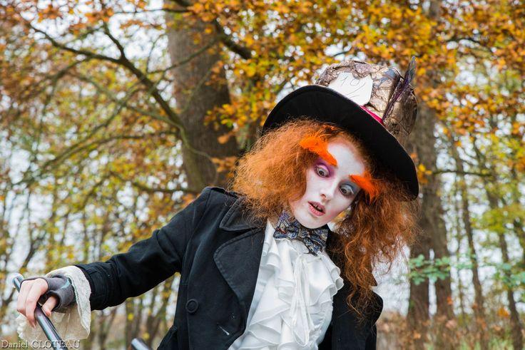 Les 25 meilleures id es de la cat gorie chapelier fou cosplay sur pinterest chapeaux de - Maquillage chapelier fou ...