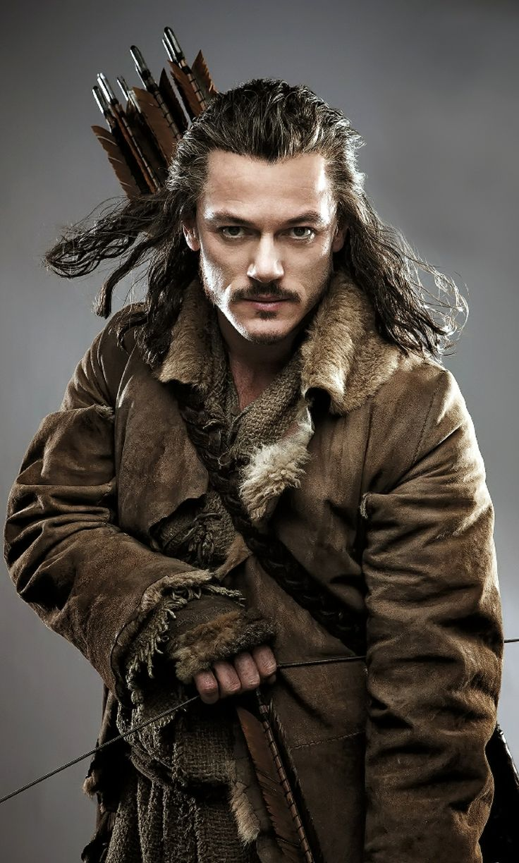 Luke Evans as Bard. Probably a distant cousin on Dad's side :)