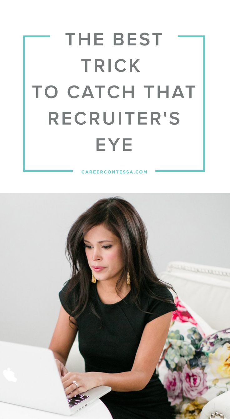 Recruiters can easily distinguish a good candidate from a great one. And if you nail those elements they're looking for? You're in. | CareerContessa.com