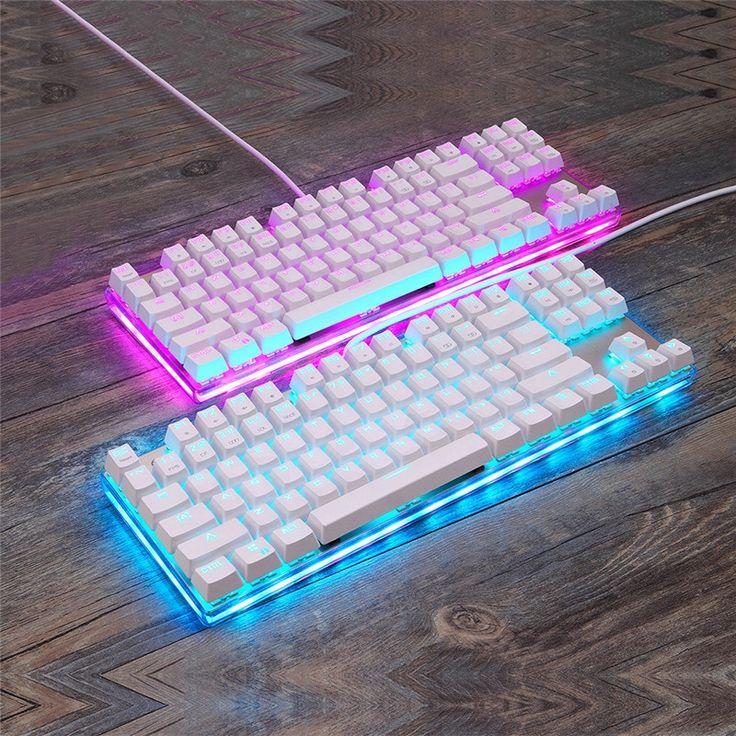 49.48$  Buy now - http://alin23.shopchina.info/go.php?t=32806653081 - MOTOSPEED CK87S USB Cable Mechanical Backlit Keyboard Ergonomics RGB LED Lights Professional Teclado Players  #aliexpress