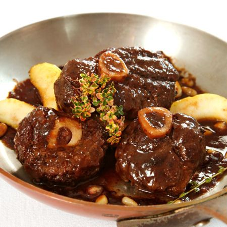 Emeril's osso buco - if I were on death row, this is what I would eat for my last meal.