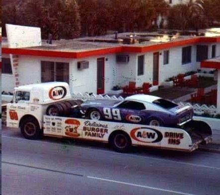 a w hauler for dick trickle 39 s 99 mustang stock car classic race cars pinterest cars. Black Bedroom Furniture Sets. Home Design Ideas