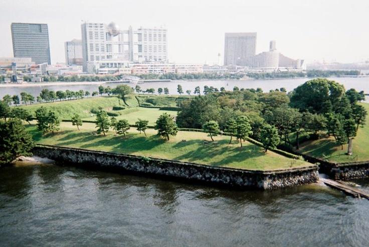 Daiba Fort and Odaiba Island