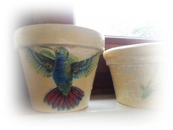New life for my old terra-cotta pots | docrafts.com