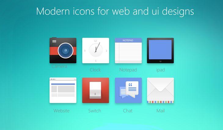 Ücretsiz Web ve UI Tasarım için modern ikonlar | Icon