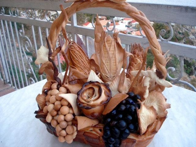 Taking bread art to a whole new level :) Bread sculpture made by my friend Chef Meg Victorino