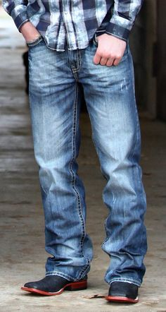 mens cowboy boots with jeans - Google Search