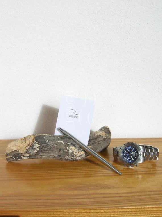 Porta biglietti da visita  legno mare idea regalo papà di H2ONDE