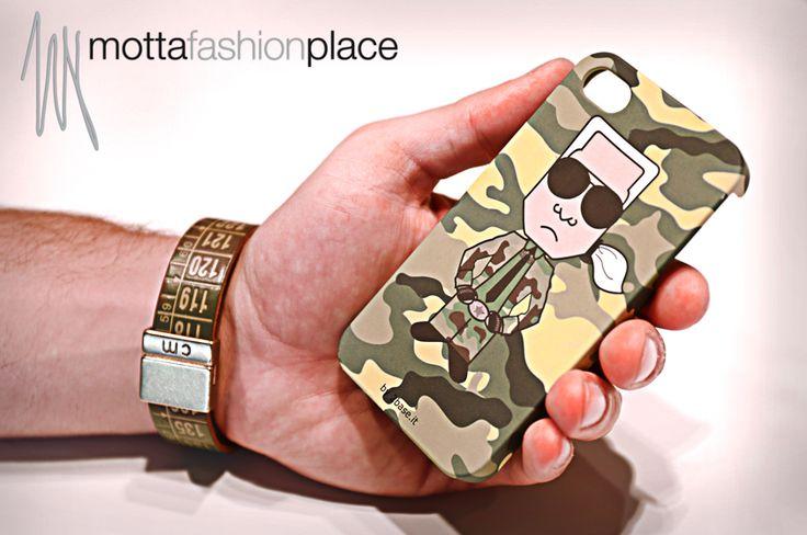 Iphone Cover Seconda Base e bracciale Il Centimetro