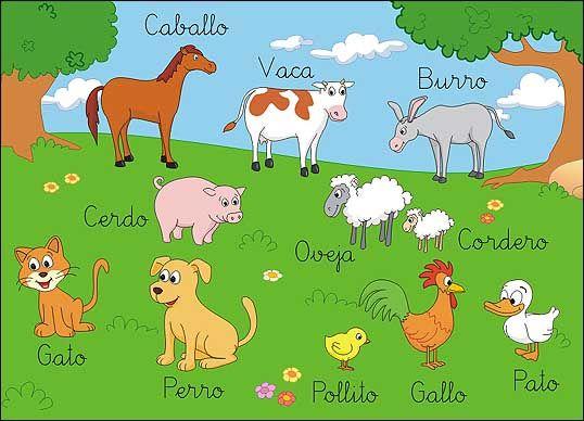 animales que viven en la granja