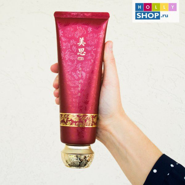 Очищающая омолаживающая пенка для лица Missha Misa Cho Gong Jin Cleansing Foam