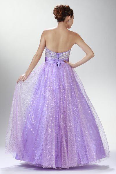 Quinceanera Dress Vestido de 15 Lila @ www.dressdress.net