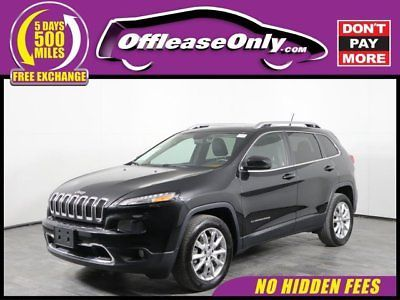 ebay cherokee limited off lease only 2015 jeep cherokee limited v6 rh in pinterest com
