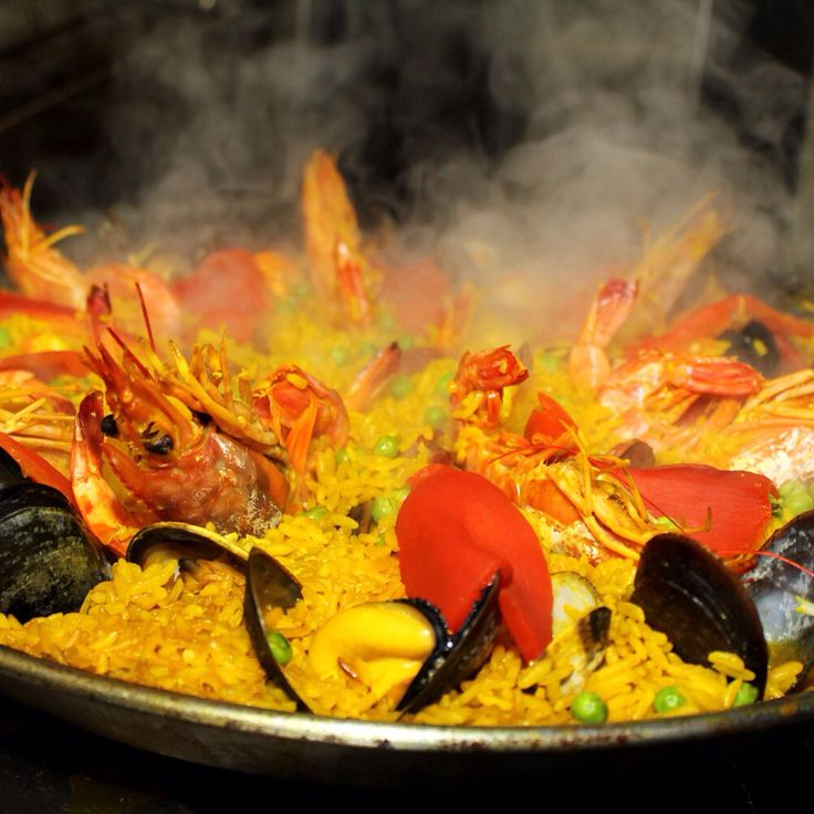 Get set ready and.... drool! Paella from @bodegaonmain opening party #ICan'tBelieveIAteItAll
