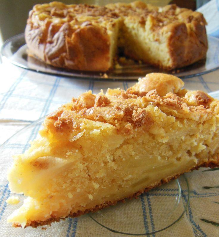 torta di mele e amaretti