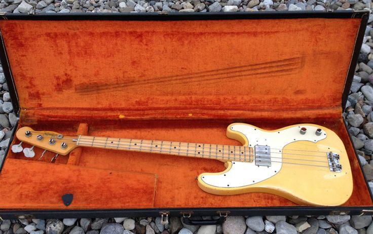Guitar Blog: Fender Telecaster Bass from the CBS era, circa 197...
