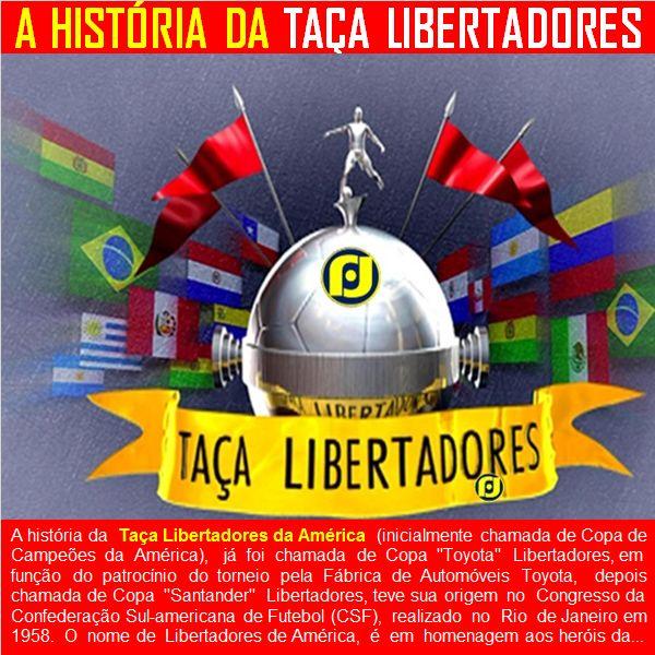 O Blog do JF: A história da Taça Libertadores da América