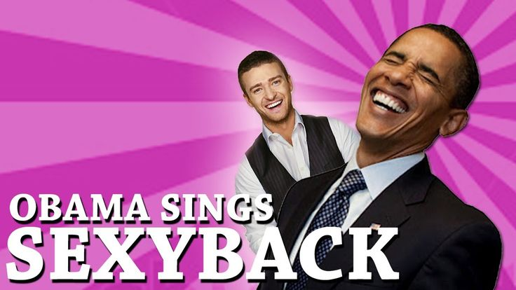 NOT ANYTHING TO DO WITH POLITICS, JUST FUNNY:I love these mashups...they crack me up!!!|Barack Obama Singing SexyBack by Justin Timberlake (ft. Joe Biden)