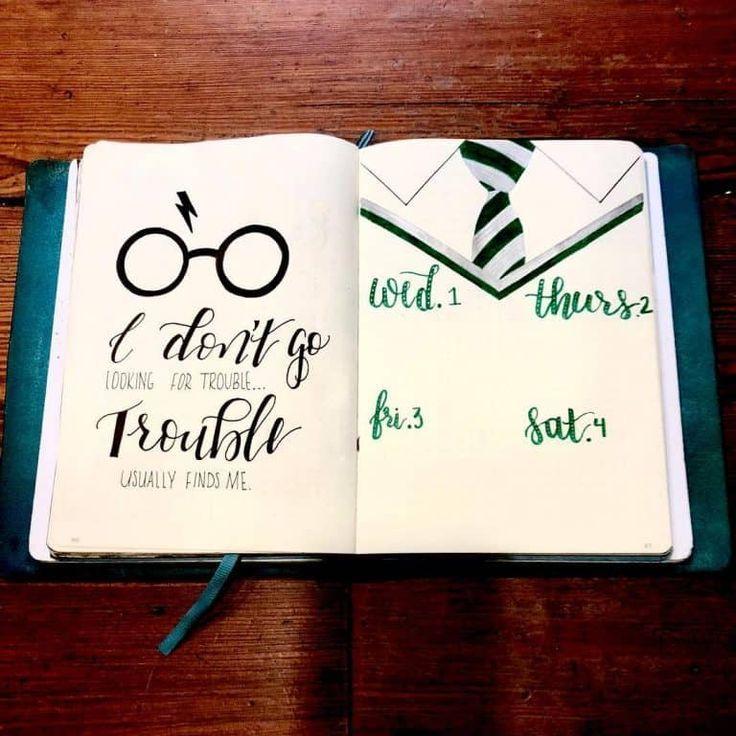 Harry Potter Aufzählungszeichen Layout