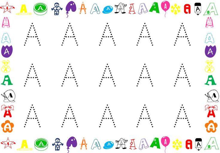 grafomotricidad letras mayusculas - Buscar con Google