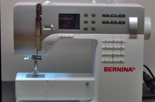 It's computerized. It sews great. It's a good choice for the beginner – but not for children… and it's a good option for the seasoned home sewer as well. The BERNINA 330 might be a little pricey, but if you can find one on sale, or if you can negotiate a good trade in agreement with your l…