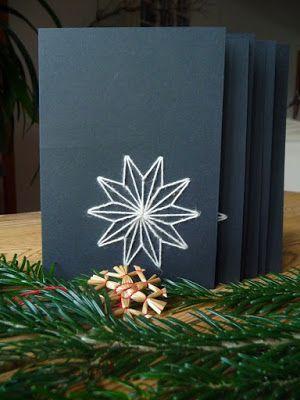die besten 25 selbstgemachte weihnachtskarten ideen auf pinterest einfache weihnachtskarten. Black Bedroom Furniture Sets. Home Design Ideas