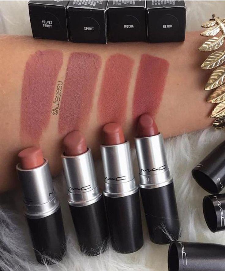 These 32 Gorgeous Mac Lipsticks Are Awesome – Velvet Teddy, Spirit, Mocha, Ret…