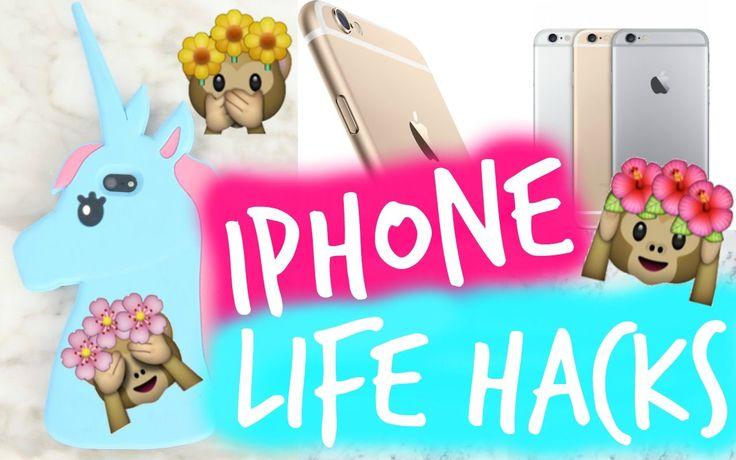 6 iPhone Life Hacks You never tried! | Naomi B ♡