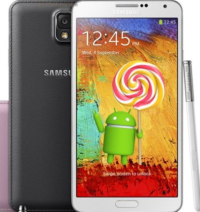 2015 Samsung Galaxy Note 3 N9005 Update Android Lollipop