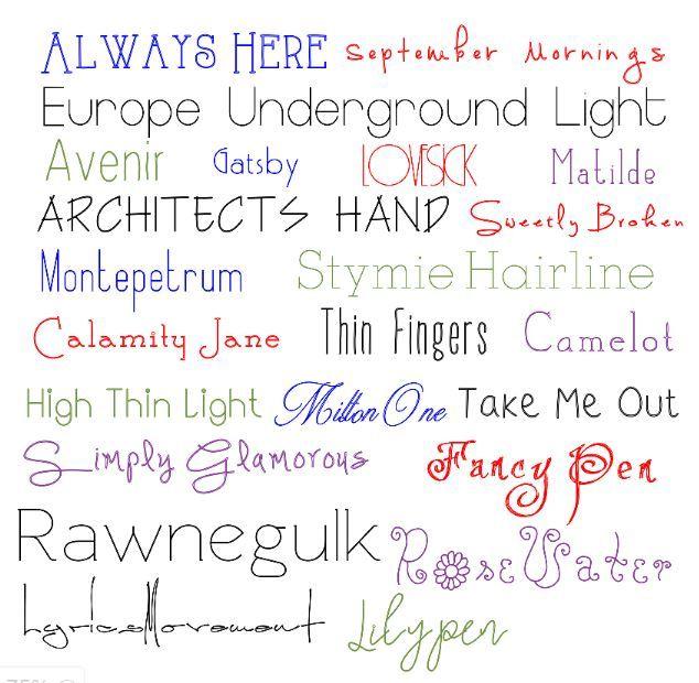 Single line fonts kostenlos