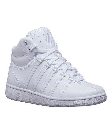 Love this White High-Top Sneaker on #zulily! #zulilyfinds