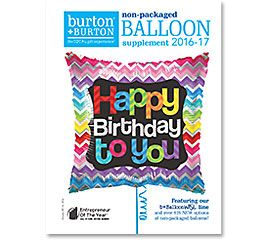 Non-packaged Balloon Supplement 2016-17 #burtonandburton