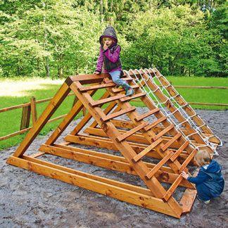 Výroba originálnej detskej preliezačky z dreva