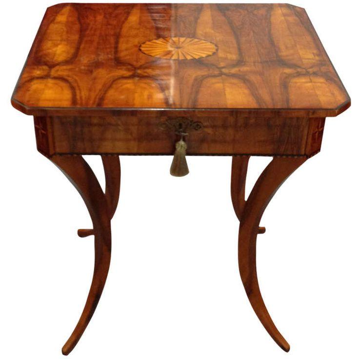 Biedermeier Single Drawer Table. 275 best Biedermeier images on Pinterest   French empire  Antique
